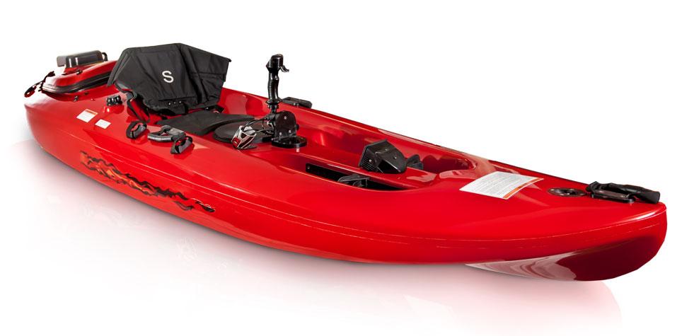 Electric Motor Canoe